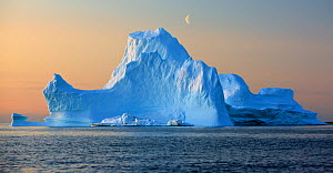 Iceberg, Disko Bay, Greenland, August 2009  -  Wild Wonders of Europe / Jensen