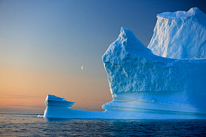 Iceberg, Disko Bay, Greenland, August 2009.  -  Wild Wonders of Europe / Jensen