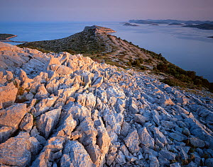 View from Levrnaka Island to the north, Kornati National Park, Croatia, May 2009  -  Wild Wonders of Europe / Popp-Hackner