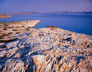 View from Ravni Zakan Island, Kornati National Park, Croatia, May 2009  -  Wild Wonders of Europe / Popp-Hackner