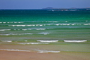 Traigh Ghriais beach, North east Lewis, Outer Hebrides, Scotland, UK, June 2009  -  Wild Wonders of Europe / Muñoz