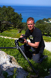 Photographer, Peter Lilja, Akamas Peninsula, Cyprus, May 2009  -  Wild Wonders of Europe / Lilja