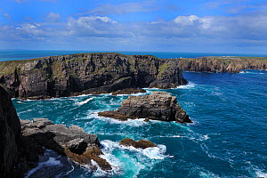 View of Tory Island from Dun Bhaloir, County Donegal, Republic of Ireland, June 2008  -  Robert Thompson