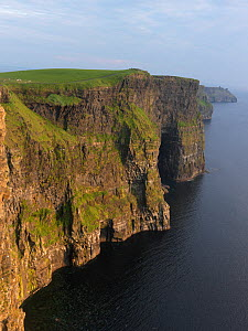 Cliffs of Moher, limestone cliffs, County Clare, Ireland, June 2009 - Wild Wonders of Europe / Hermans