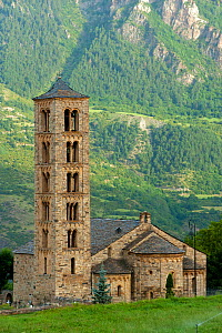 Sant Climent de Taull Church, romanesque church from XII century, and UNESCO world heritage, in the Bo� Valley, Pyrenees, Lleida, Catalonia, Spain. July 2009 - Inaki Relanzon
