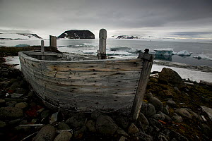 Abandoned Russian research base, Hooker Island, Franz Josef Land, Russian Arctic, July 2007 - Sue Flood