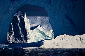 Iceberg, Disko Bay, Greenland, August 2009 WWE OUTDOOR EXHIBITION.  -  Wild Wonders of Europe / Jensen