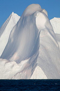 Towering iceberg in the Ilulissat Icefjord, West Greenland, 2008. - Bryan and Cherry Alexander