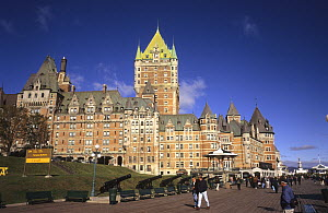 Frontenac castle, Quebec city, Canada, September 2001  -  Eric Baccega