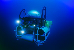 DeepSee diving submersible, Cocos Island, Costa Rica, Pacific Ocean Property released  -  Jeff Rotman