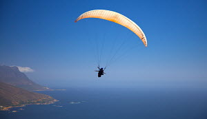 Paragliding over Cape Town, South Africa, December 2009. - Charlie Dailey
