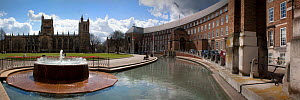 Panorama of Cathedral and City Council buildings, Bristol, England, April 2009. - Toby Roxburgh