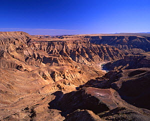 Fish River Canyon, Namibia, SW Africa  -  Visuals Unlimited