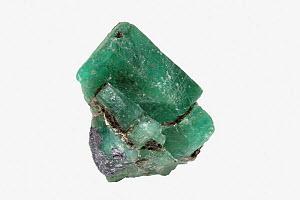 Beryl, variety Emerald, Coscuez Mine, Muzo, Colombia - Visuals Unlimited