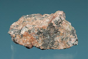 Pegmatite is a very coarse grained plutonic igneous rock with a similar composition to granite.  -  Visuals Unlimited