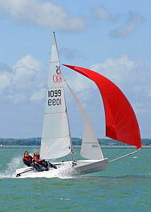 Third overall RS400 1099 during the RS400 Gull Grand Prix. Thorness Bay, Isle of Wight, England, May 2011.  -  Rick Tomlinson