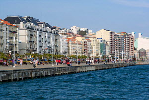Promenade at Santander, Cantabria, Spain, May 2011. - Rob Cousins