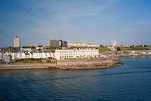 Plymouth Harbour and The Hoe, England, April 2011.  -  Rob Cousins