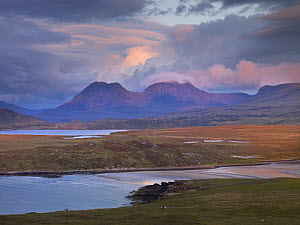 Assynt mountains, Highland, Scotland, UK, June 2011  -  Joe Cornish / 2020VISION