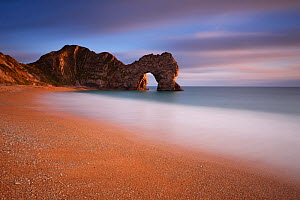 Durdle Door on the Jurassic Coast of Dorset. England, November 2010. - David Noton