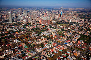 Aerial photo of Johannesburg, South Africa  January 2010 - Richard Du Toit
