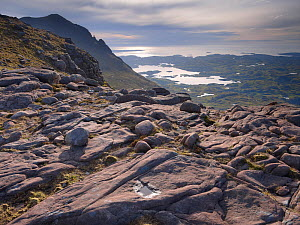Looking west from the upper slopes of Cul Mor, Coigach / Assynt SWT, Sutherland, Highlands, Scotland, UK, June 2011 - Joe Cornish / 2020VISION