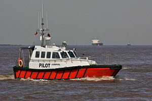 Liverpool Pilot Boat 'Skua' on the River Mersey, England, September 2011. All non-editorial uses must be cleared individually. - Graham Brazendale