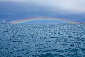 Rainbow off Antarctica, February 2009, Taken on location for BBC Frozen Planet series  -  Kathryn Jeffs