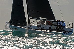 Melges 32 'Intac' during a race on day 2 of Key West Race Week, Florida, USA, January 2012. All non-editorial uses must be cleared individually. - Rick Tomlinson