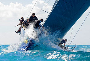 52 Class 'TeamOrigin 1851' during a race on day 5 of Key West Race Week, Florida, USA, January 2012. All non-editorial uses must be cleared individually.  -  Rick Tomlinson
