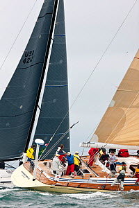 'Cannonball' racing in the New York Yacht Club Annual Spring Regatta, Rhode Island, USA, June 2011. All non-editorial uses must be cleared individually. - Onne van der Wal