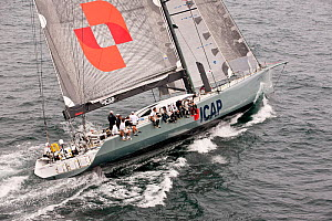 'ICAP Leopard' in Start 3 of the Transatlantic Race, from Newport, Rhode Island, USA, July 2011. All non-editorial uses must be cleared individually.  -  Onne van der Wal