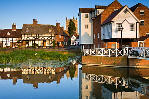 Abbey Mill on the River Avon, Tewkesbury, Gloucestershire, UK, July 2008. - Nick Turner