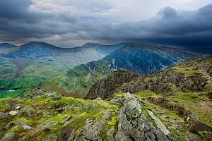 View from the summit of Haystacks, Lake District NP, Cumbria, England, UK, November. 2020VISION Book Plate. - Ben Hall / 2020VISION