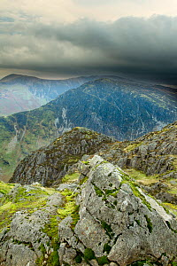 View from the summit of Haystacks, Lake District NP, Cumbria, England, UK, November - Ben Hall / 2020VISION