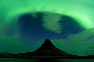 Northern lights over Mount Kirkjufell, Snaefellsnes, Iceland, September 2010 - Erlend Haarberg
