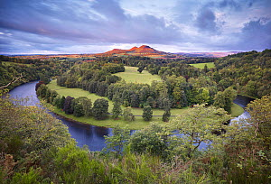 Scott's View looking towards Eildon Hill with the River Tweed in the foreground, Berwickshire, Scotland, UK, October 2011. 2020VISION Exhibition. 2020VISION Book Plate. Did you know? �9 million has re... - Joe Cornish / 2020VISION