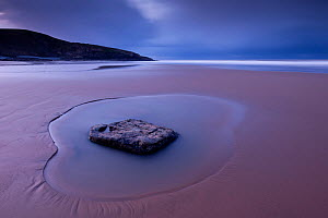 Scenic views of Southerndown, Glamorgan Heritage Coast, near Bridgend, Wales, UK, December 2012.  -  Ross Hoddinott