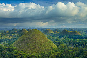 Chocolate Hills, Bohol, The Visayas, Philippines. February 2011. - David Noton