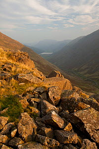 View along Kirkstone Pass. Lake District National Park, Cumbria, September 2011.  -  Peter Cairns / 2020VISION