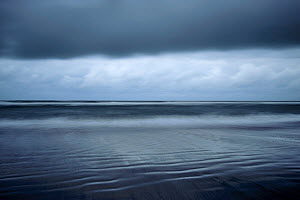 Dark clouds above the North Sea, Norderney, Germany, September  -  Sandra Bartocha