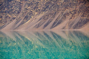Reflections in glacial fjord, Kongsfjorden, Svalbard, Norway - Peter Cairns