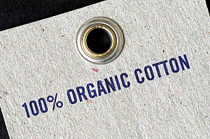 100% Organic Cotton printed on label  -  Pat  Tuson
