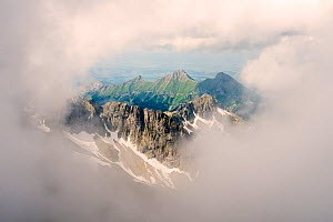 Lomnicks Peak, 26345m, one of the highest mountain peaks in the High Tatras mountains of Slovakia June 2012. - Ross Hoddinott