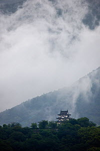 Uwajima castle,  Uwajima, Ehime, Japan. Also known as Tsurushima-jo. - Sue Flood