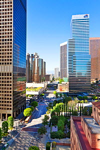 View of downtown Los Angeles, California, USA, July 2011. No release available. - Gavin Hellier