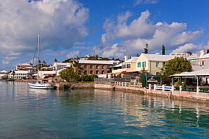St George's harbour in the historical town of St George, an UNESCO World Heritage Site, Bermuda 2007 - Gavin Hellier
