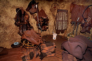 Inside the hut of Himba person, Damaraland, Namibia - Loic Poidevin