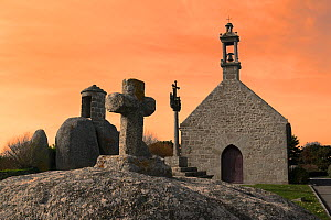 Chapelle de Pontusval, Brignogan-plage ,Finistee, Brittany, France  -  Loic Poidevin