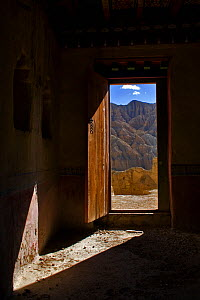 Doorway in Tsaparang (sometimes known as the mythical Shangri-la) was the capital of the ancient kingdom of Guge in the Garuda Valley, Ngari Prefecture, Western Tibet. Tsaparang is a huge fortress per...  -  Ben Lascelles